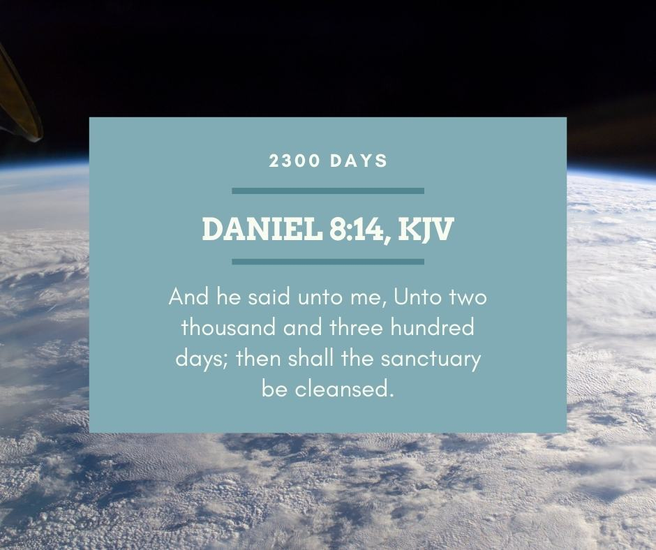 SDA Doctrines: What to Do - Daniel 8:14